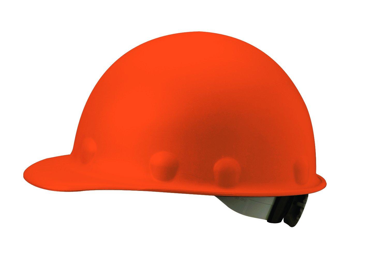 Fibre-Metal Hard Hat P2HNRW46A000 SuperEight Roughneck Hard Caps,Orange