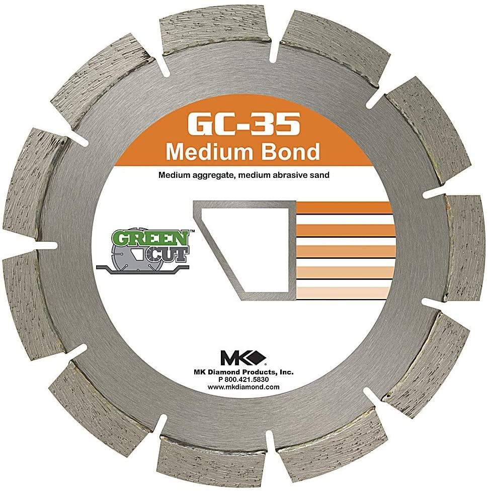 MK Diamond 166752 GC-35 Diamond Blade, 14