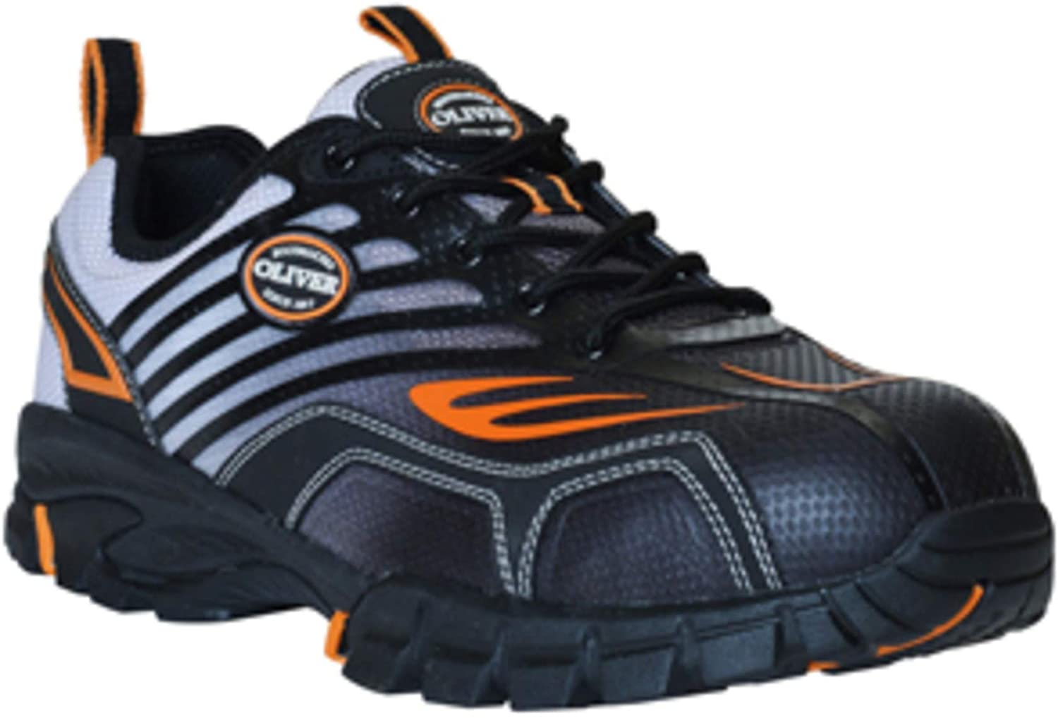 Oliver by Honeywell OL25000-ORG-095 Fixit Series Men's Steel Toe Sneakers