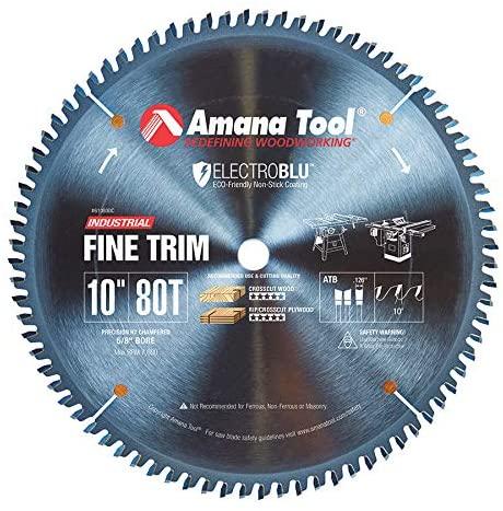 Amana Tool - 610800C Electro-BLU Carbide Tipped Trim 10