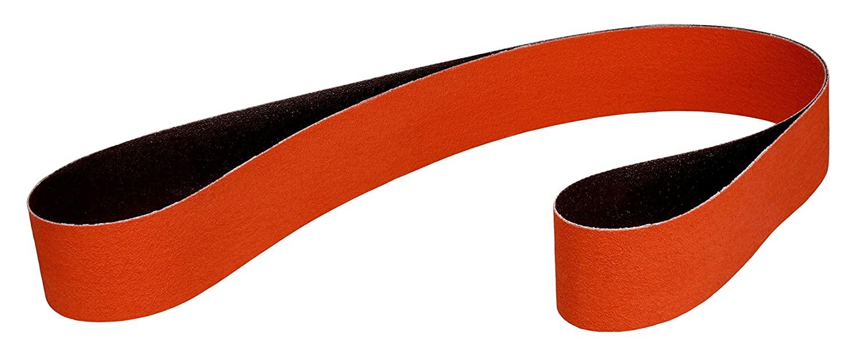 3M Cloth Belt 747D, 80 X-Weight, 2-1/2 in x 18-15/16 in, Film-lok, Single-Flex