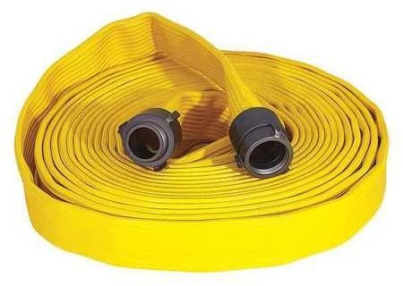 Attack Line Fire Hose, 300 psi, Yellow