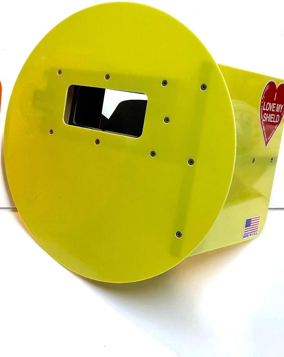 Safety Green Wendy's Pancake Welding Shield