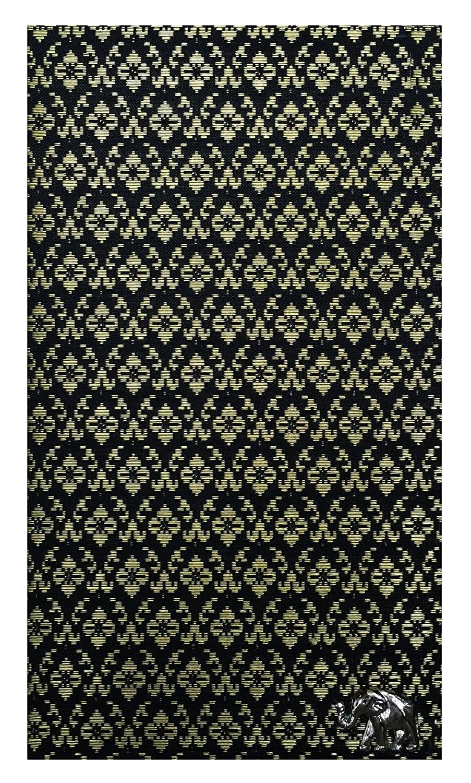 Black Silk Blend Guest Check Presenter for Restaurant, Check Book Holder, Check Pad Holder, Waitstaff Organizer, Server Book for Waitress with Money Pocket, Waiters Book. U