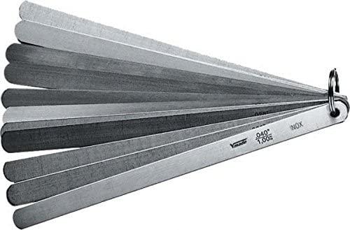 Piston Feeler Gauge, 13 Bl./200 0,05-1,00mm/.002-.040