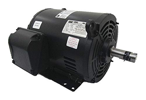 GP Motor, ODP, 5 HP, 1175 RPM, 1-3/8in. Dia.