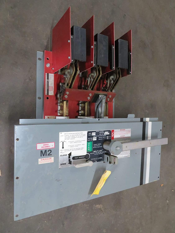 Square D BLO34160 1600 Amp 480V Bolt-Loc Pressure Switch QED Lock BLO-34160