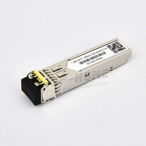 Dell PowerConnect SFP-EX1550-40 Compatible 1000BASE-EX SFP 1550nm Singlemode Fiber Duplex LC 40km DOM Transceiver