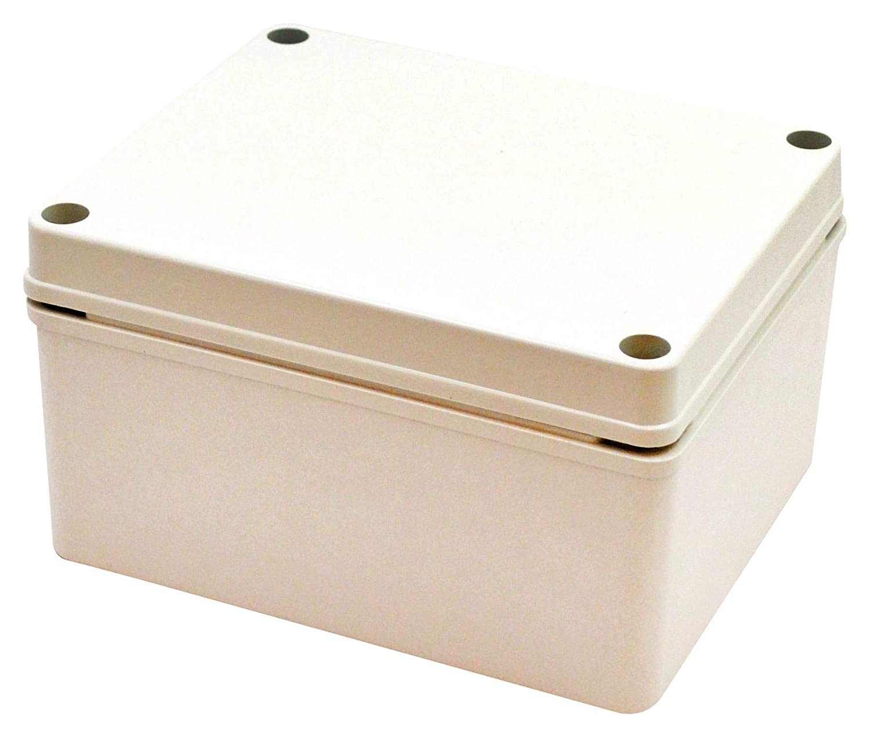 BUD INDUSTRIES PTS-25312 Plastic Enclosure, NEMA 4X, 10% Fiberglass, Multipurpose, Polycarbonate, 70 mm, 80 mm, 130 mm, IP67