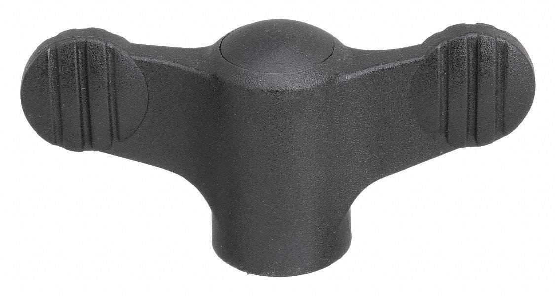 Wing Grip Knob, M6, Int, SS, 0.94, NG