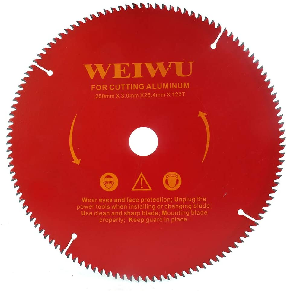 10 Inch 120 Tooth Carbide Circular Saw Blade for Wood and Wood Composites