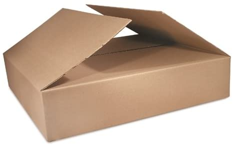 The Packaging Wholesalers 24 x 12 x 6 Inches Shipping Boxes, 25-Count (BS241206)