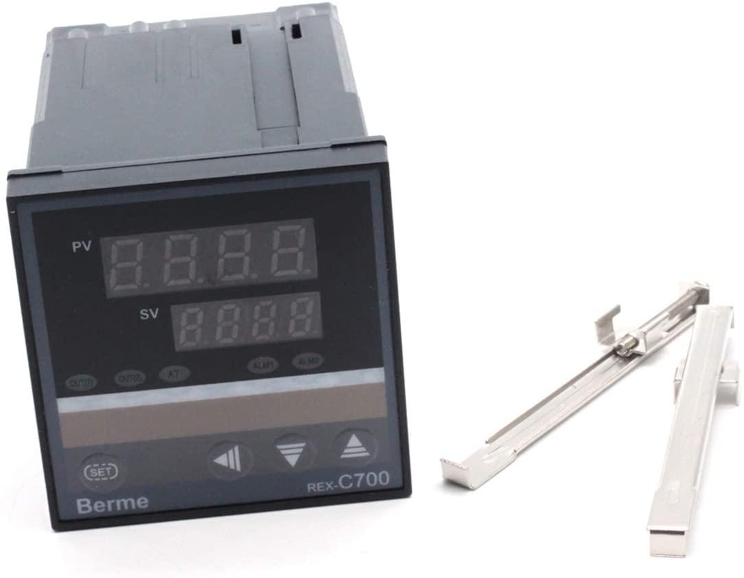 Mecion REX-C700 AC 100~240V Digital Pid Temperature Controller with Relay Control Output