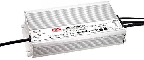 LED Power Supplies 601.2W 36V 16.7A IP65 Dimming CV+CC