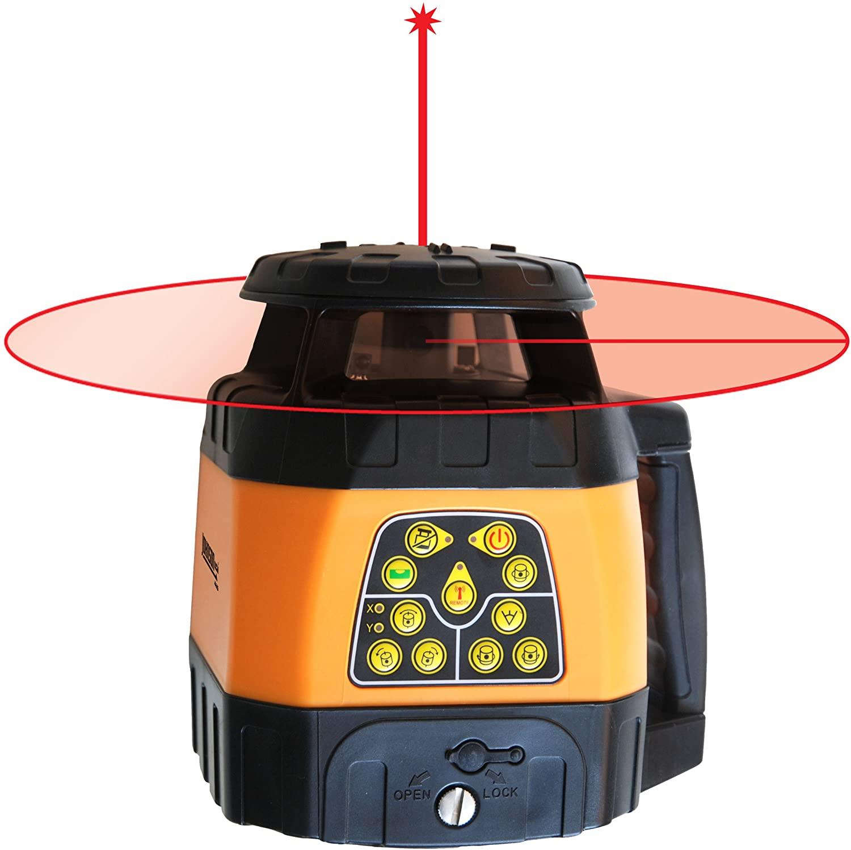 Johnson Level & Tool Electronic Self-Leveling Horizontal & Vertical Rotary Laser Kit