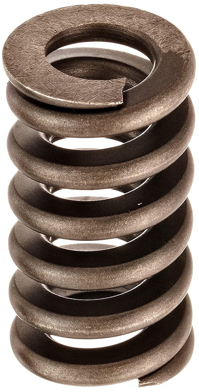 Heavy Duty Compression Spring, Chrome Silicon Steel Alloy, Inch, 1