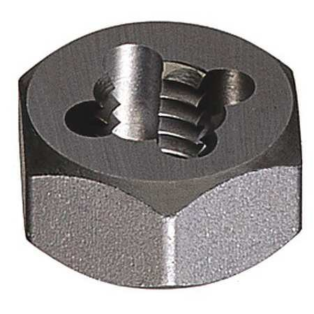 Greenfield Threading 280 Carbon Steel Hexagon Rethreading Die, Uncoated, 7/16