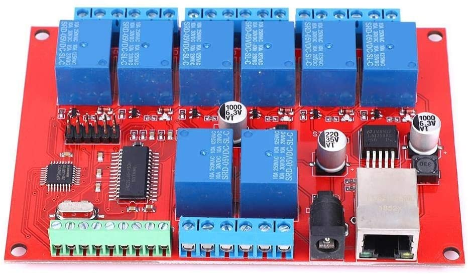 Beennex Ethernet Relay Board 8-Channel Network Switch TCP UDP Module Controller