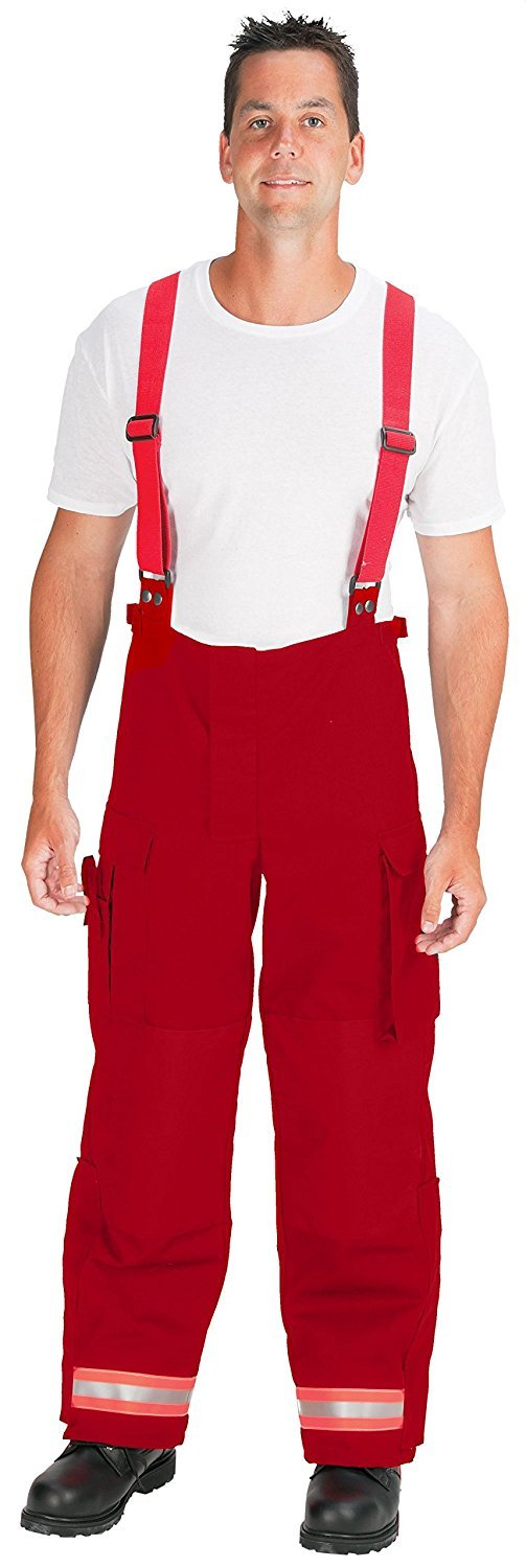 TOPPS SAFETY EP02R5645-52-30 Nomex Deluxe EMS Pants, 52