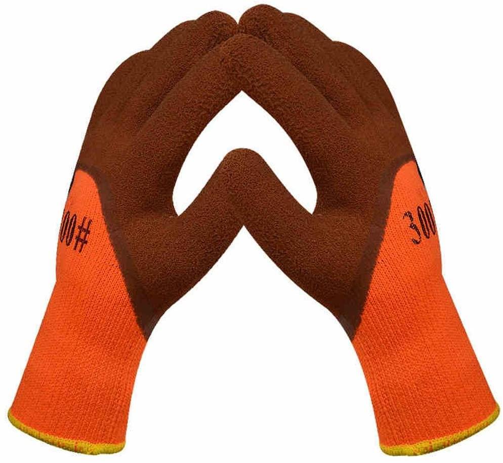 Warmer Gloves Glove Gloves Frostproof Wear Resistant Non-slip Wrinkles Labor Protective Tools Safety /