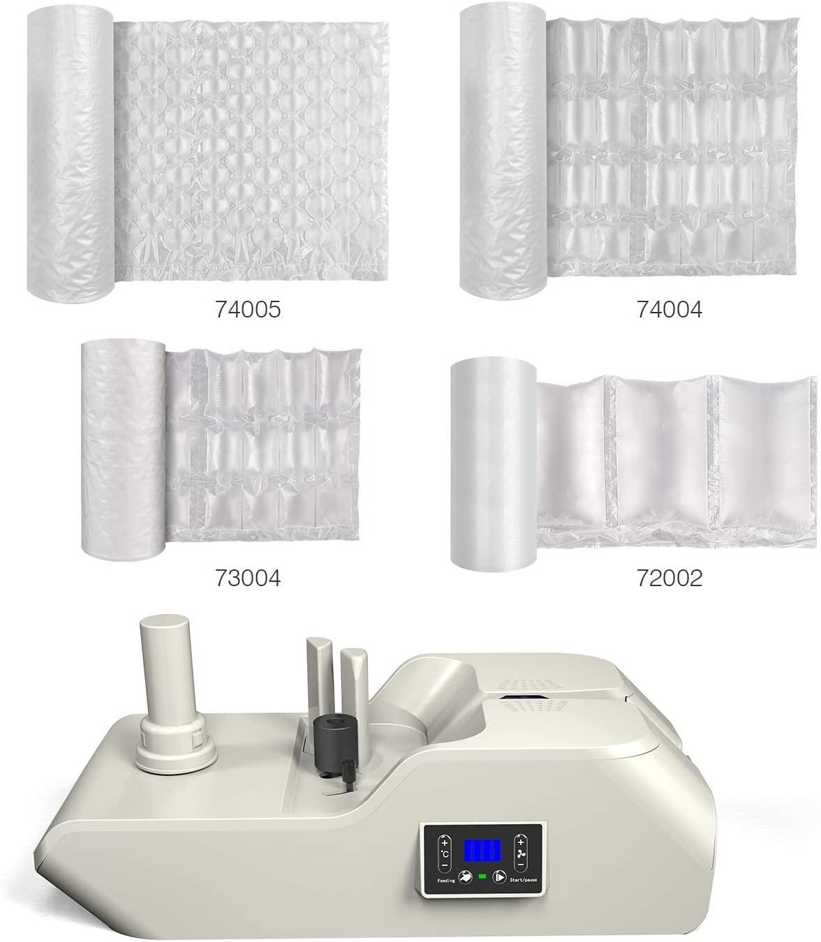 JZBRAIN Air Pillow Machine 056C+Air Cushion Film 72002+Air Cushion Film 73004+Air Cushion Film 74004+Air Cushion Film 74005