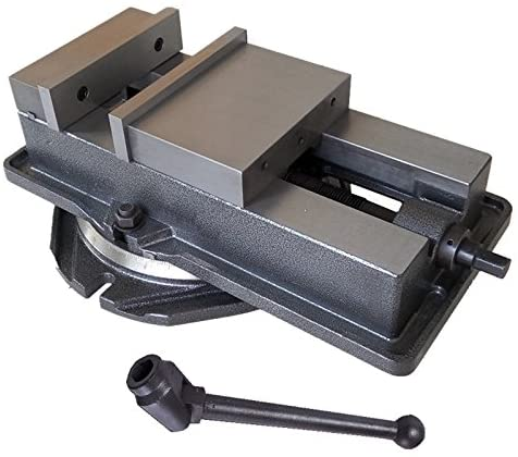 TECHTONGDA Various Sizes Bench Milling Vise Clamp Grip Bench Vice Bench Grinder Table Vice Workbench Woodworking Vice (4 INCH WITH BASE)