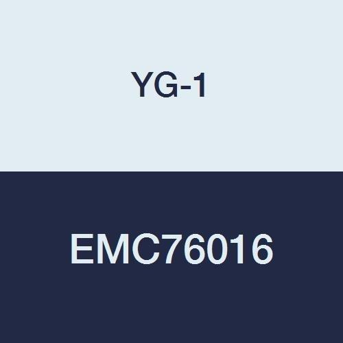 YG-1 EMC76016 Carbide V7 Mill INOX Corner Radius End Mill, 4 Flute, Stub Length, 2