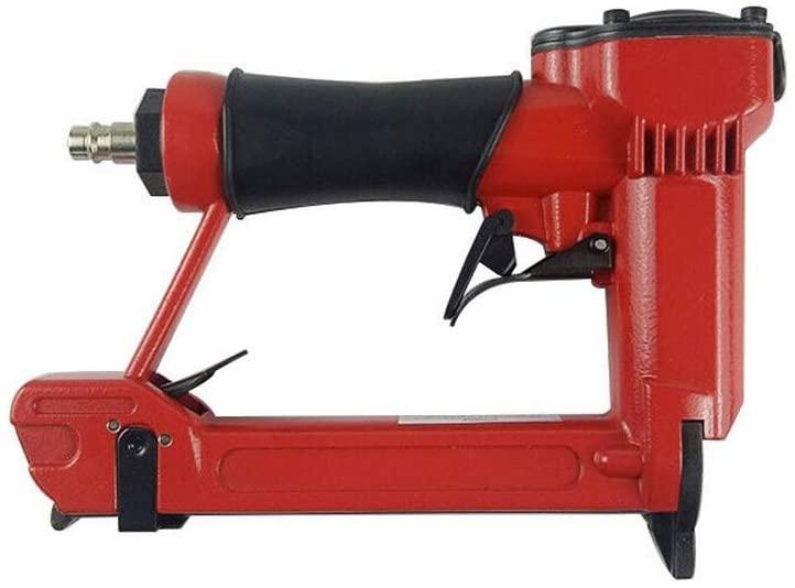 QWERTOUY Air Nail Gun Woodworking Pneumatic Stapler Gun for 4-16mm Code Nail U Style Nail Air Stapler Furniture Interior Decoration Tools