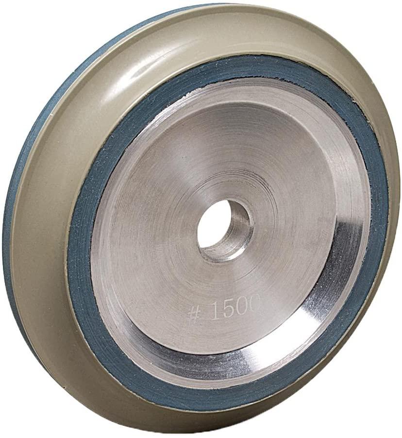MK Diamond 166088 1500 Grit Resin Bond B-Profile Wheel, DX 15mm Radius