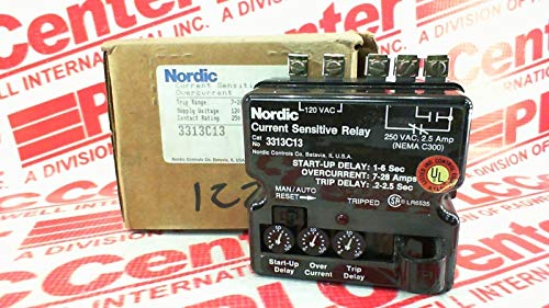 FURNAS ELECTRIC CO 3313-C13 TIME DELAY Relay 7-28AMP