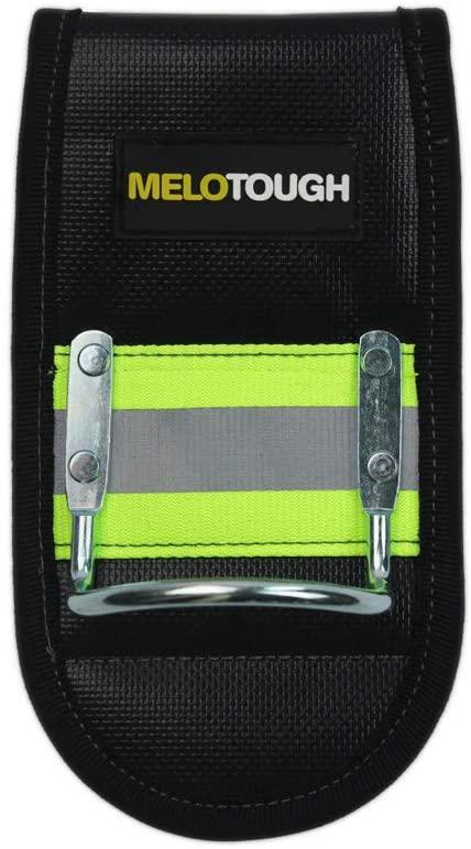 MeloTough Heavy Duty Hammer Holder with reflective stripe Hi-Viz stripe for tool belt hammer holder