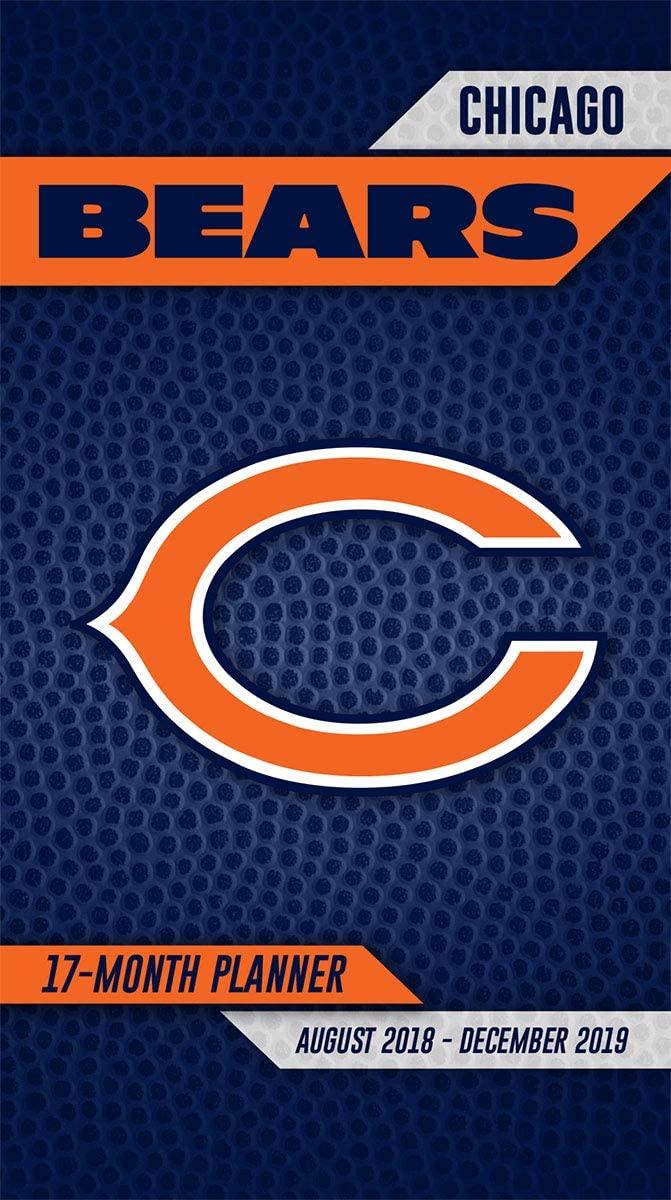 Turner Licensing Chicago Bears 2018-19 17-Month Planner (19998890537)