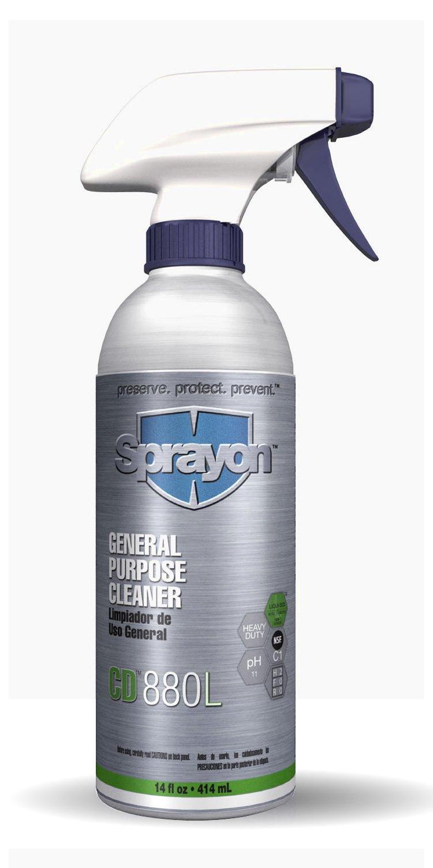 Sprayon CD880 General Purpose Cleaner 19 oz Aerosol, SKU #S00880000