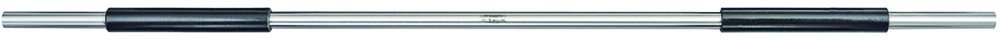 Starrett 234A-24 End Measuring Rod with Insulated Handle and Spherical Ends, 24