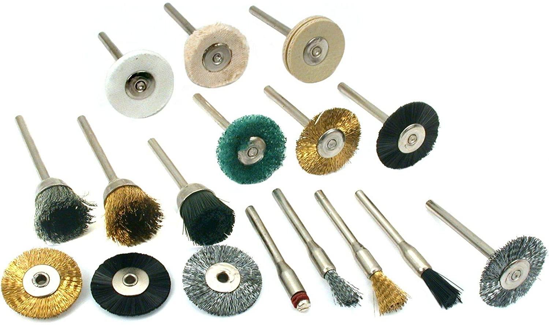 17 Rotary Tool Kit Polishing Cleaning Flexshaft Tools