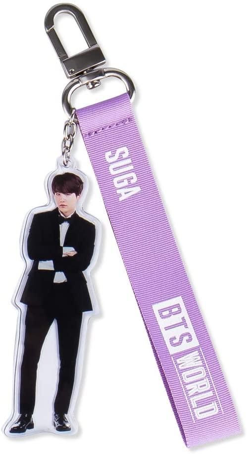 BTS World Official Merchandise - BTS World SUGA Strap Keyring