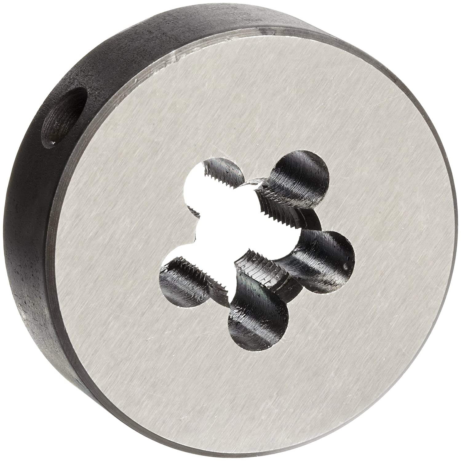 Union Butterfield 2010(NPT) Carbon Steel Round Threading Die, Uncoated (Bright) Finish, 1/8