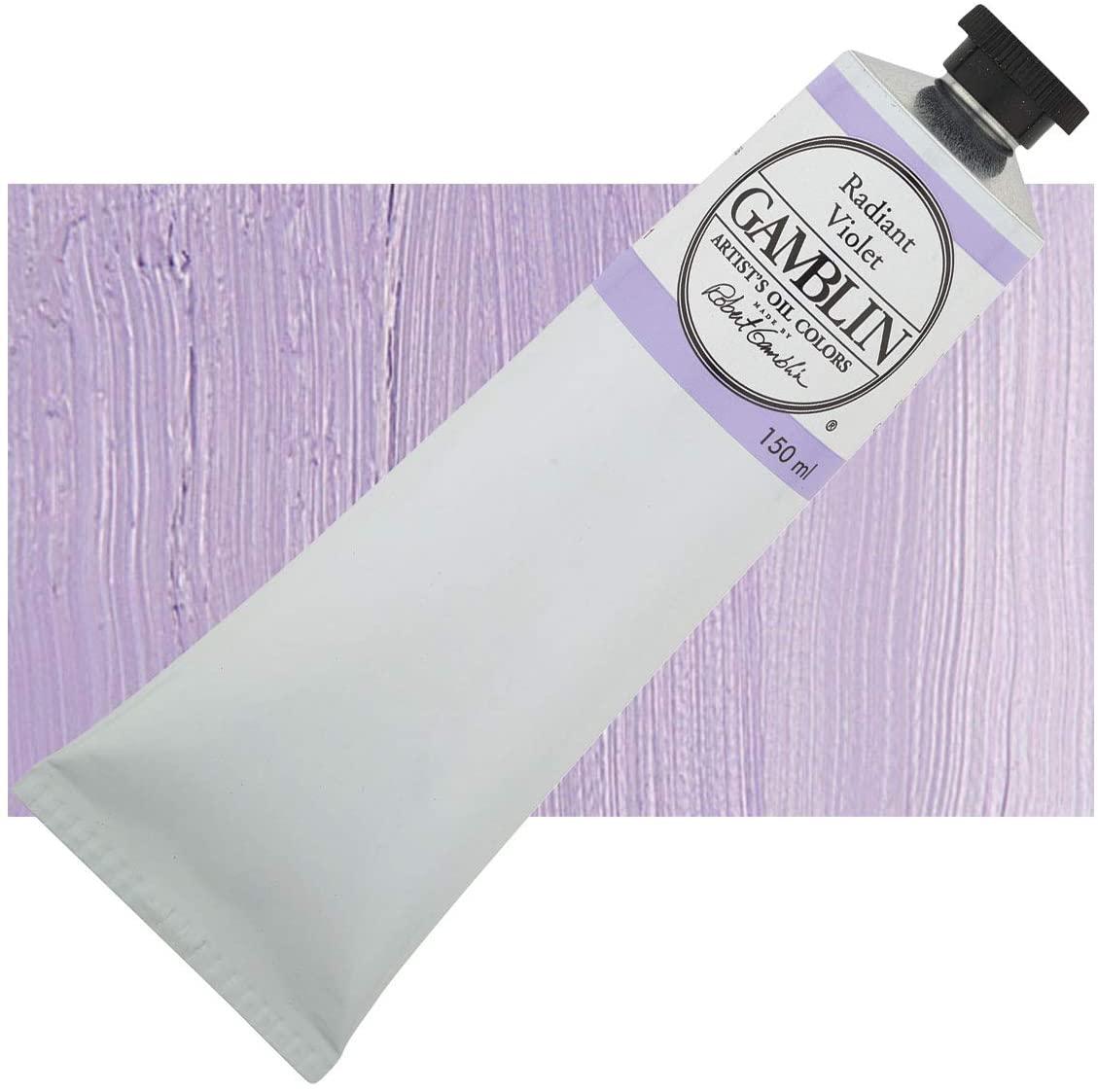 Gamblin Artist Oil Color - Radiant Violet - 150 ml Tube
