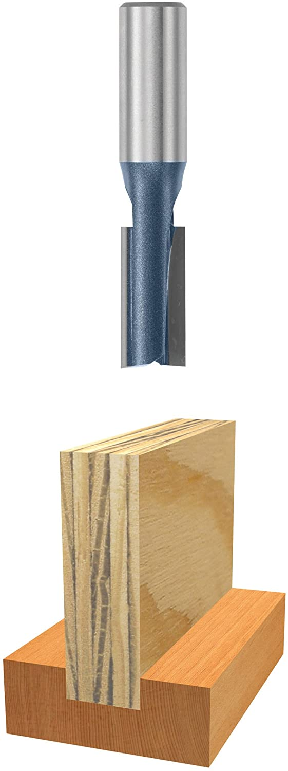 Bosch 84625M 31/64 In. x 1 In. Carbide Tipped Plywood Mortising Bit