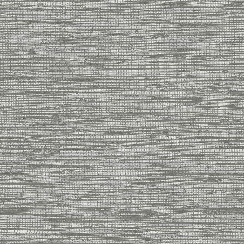 InHome NH3062 Sisal Stone Peel and Stick Wallpaper, Grey