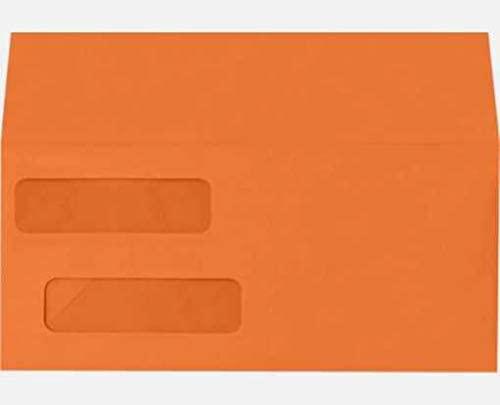 Double Window Invoice Envelopes (4 1/8 x 9 1/8) (Pack of 10000)