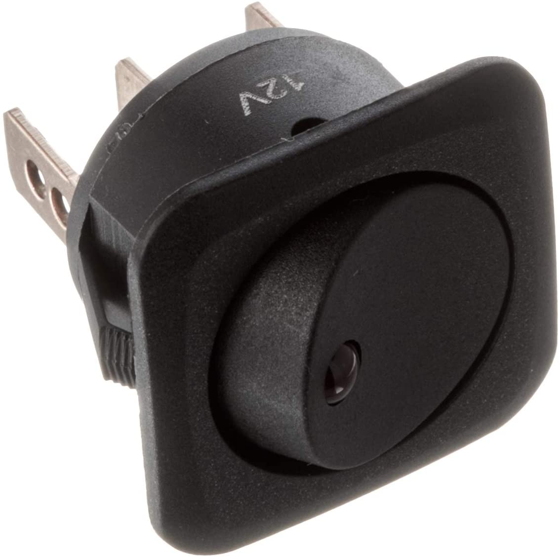 Calterm 40600 Switch, 25A Rocker, Red