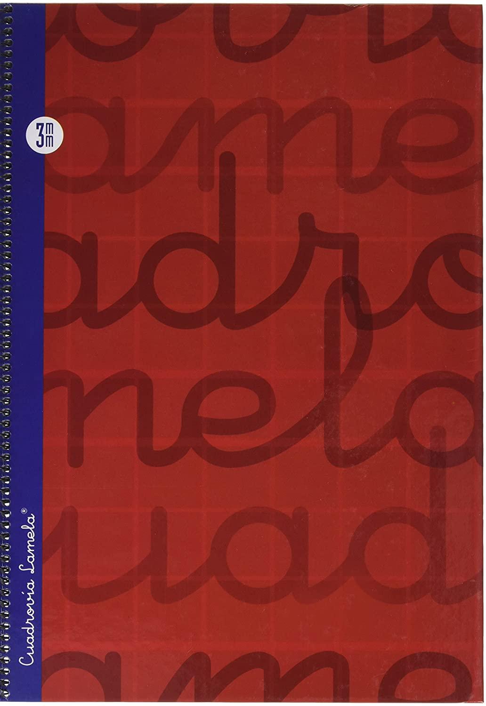 Lamela A4 Spiral Notebook - Red