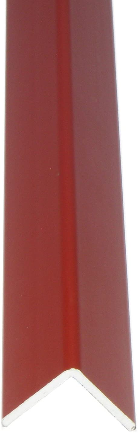 William Hopkins 1560B/14 1300 mm Lust Red Wall Edge Protective Profile, 25 x 25mm