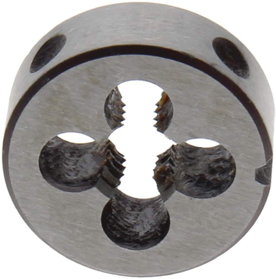 Utoolmart Inch 3/8-16Round Die Alloy Steel Die Manual Threaded Wire Circular Die Tapping Die Standard Thread Processing Die Tool