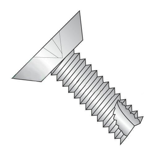 8-32 x 1 Type 23 Thread Cutting Screws/Phillips/Flat Undercut Head/18-8 Stainless Steel (Carton: 3,500 pcs)