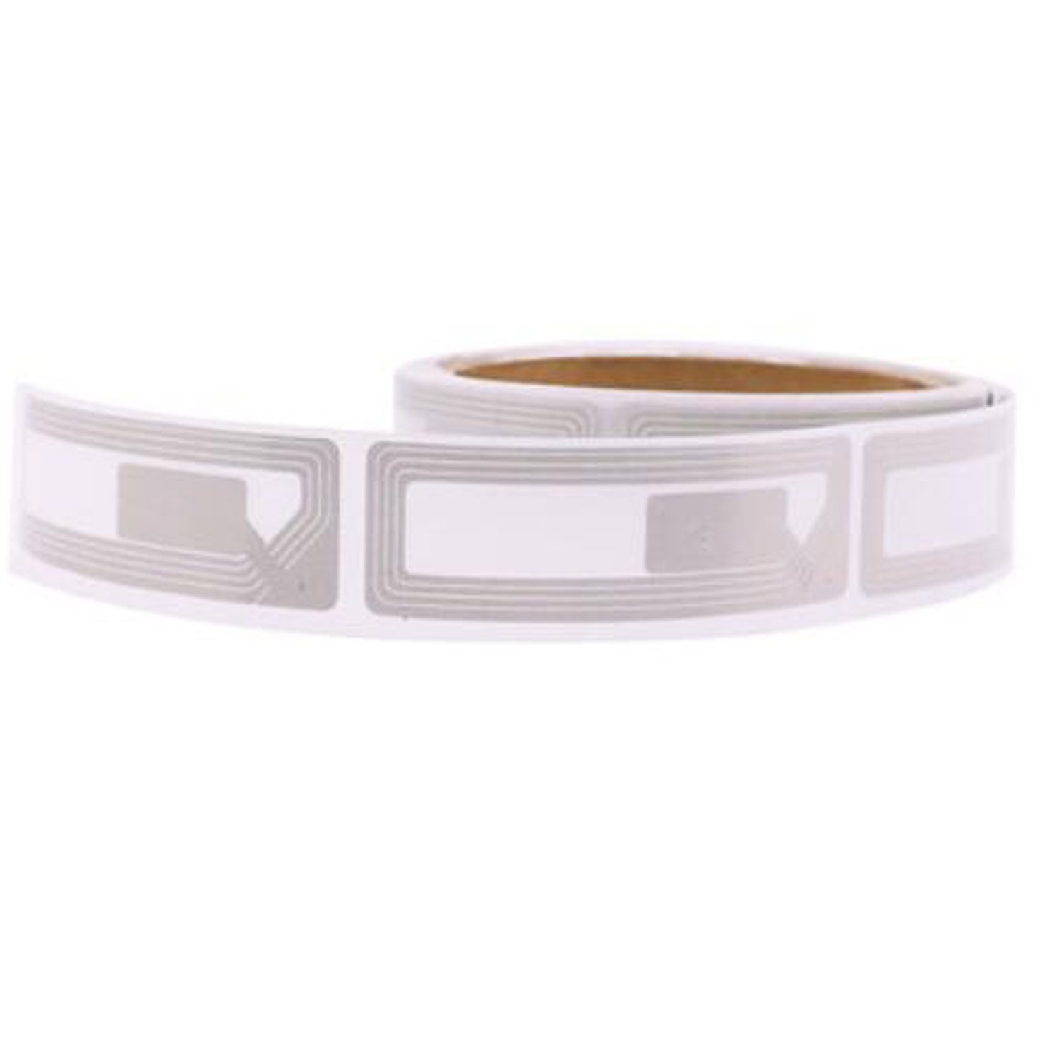 Checkpoint Compatible RF 8.2Mhz 19x65mm Silver Rectangular Security Label for Anti-theft