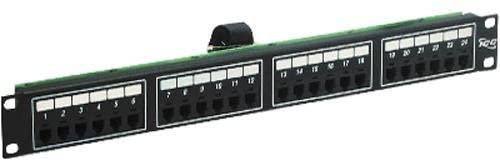 ICC Patch Panel,F/TELCO,6P2C,24-Port,1RM ICCICMPPTF242