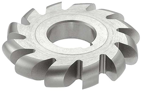 KEO Milling 81376 Standard Diameter Convex Milling Cutter,