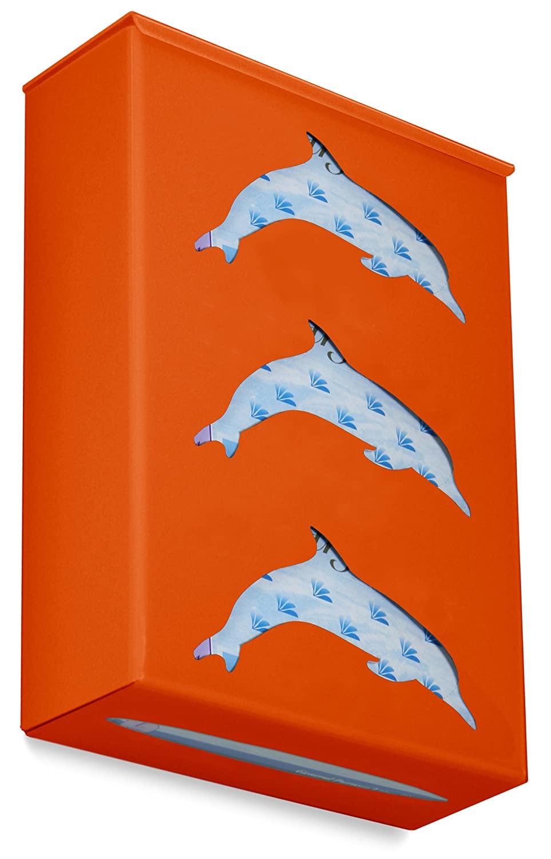 TrippNT 52285 Ultimate Dolphin Triple Pumpkin Orange Dual Dispensing Glove Holder , 10